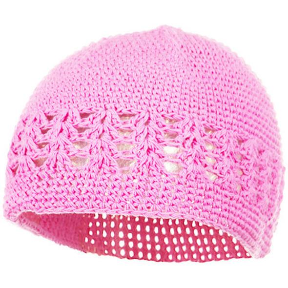 Kufi Crochet Beanies Light Pink 1475