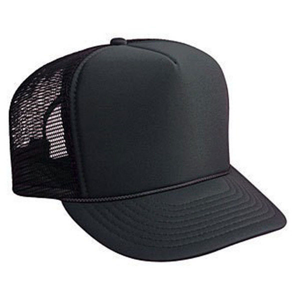 Black Trucker Caps |  12 PACK 1455