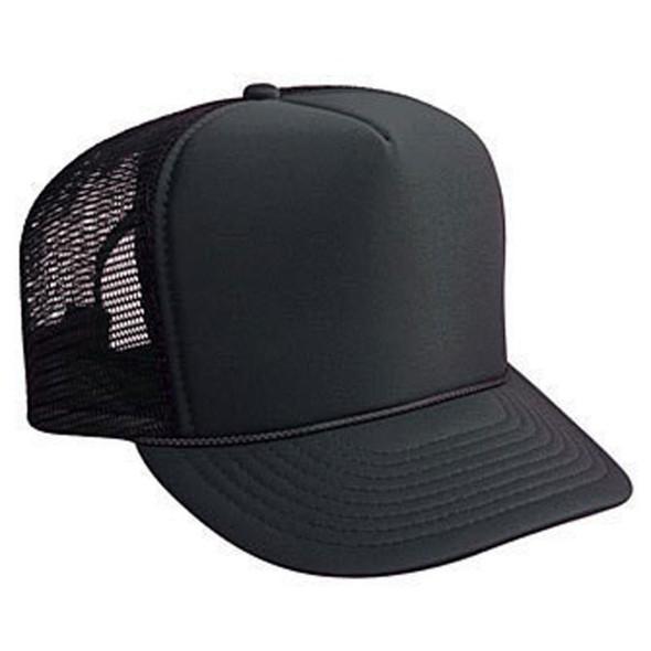 Black Trucker Caps |  12 PACK 1455