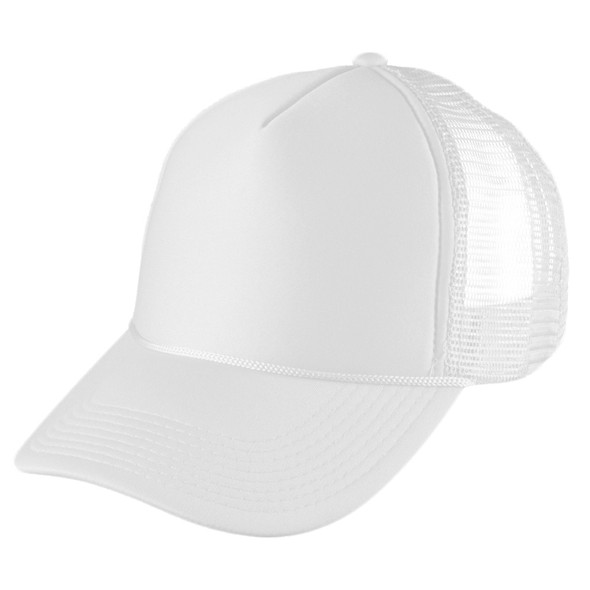 White Trucker Caps | 12 PACK 1456