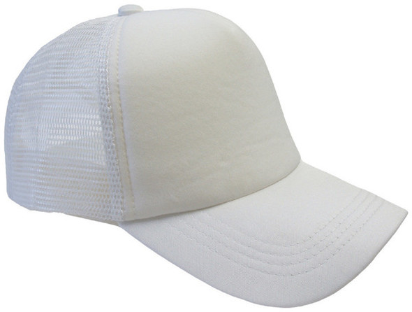 White Trucker Caps | 12 PACK 1456
