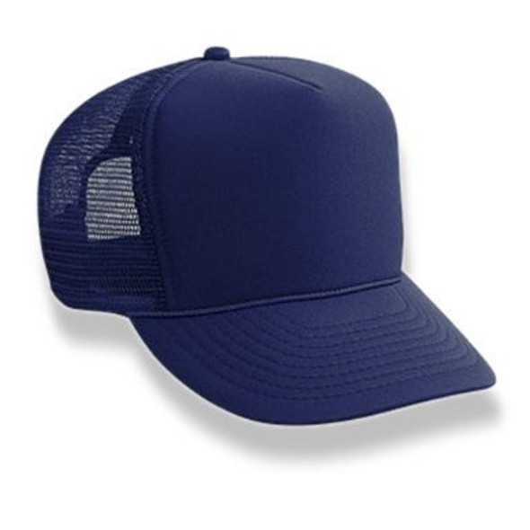 Navy Trucker Caps 12 PACK 1461