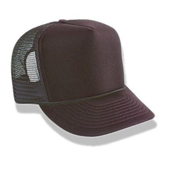 Brown Trucker Caps | 12 PACK 1462