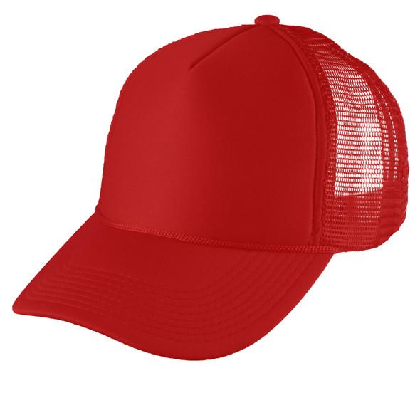 Red Mesh Trucker Cap 12 PACK 1463