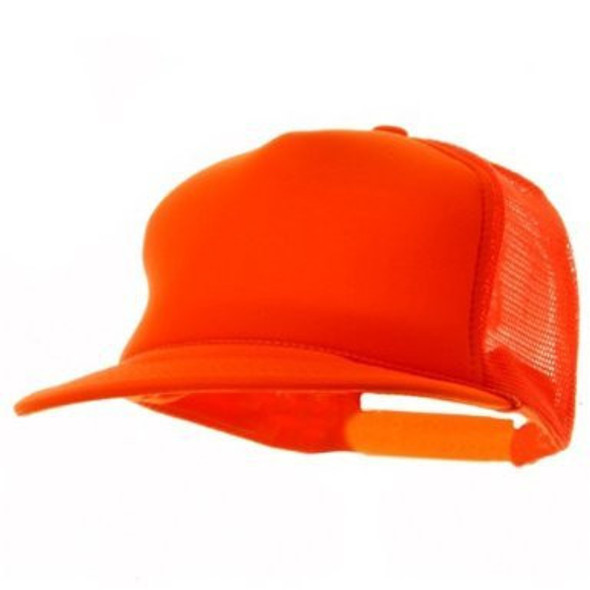 Neon Trucker Caps | Neon Orange | 12 PACK 1465