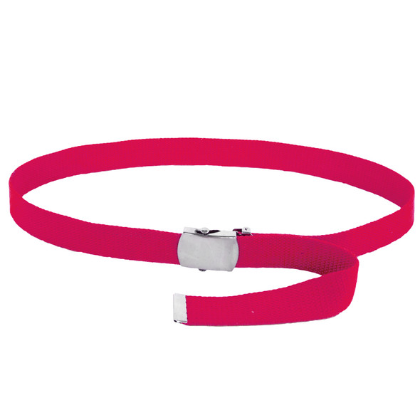 """Hot Pink Canvas Adjustable Belt Adjusts to 44-46"""" Size 2213"""