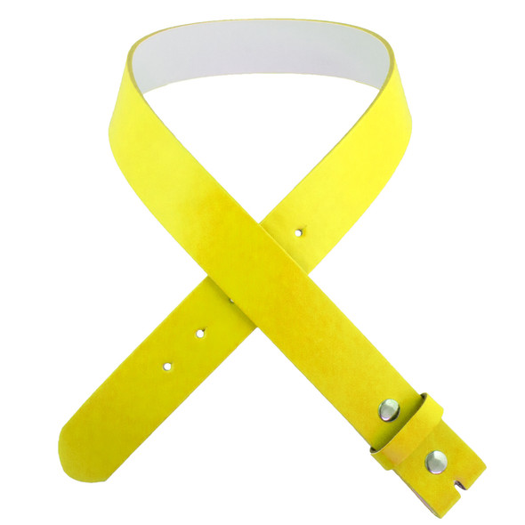 Yellow Belts Bulk | For Buckle ADULT 12 PACK Mix Sizes W/ FREE Buckles 2348A