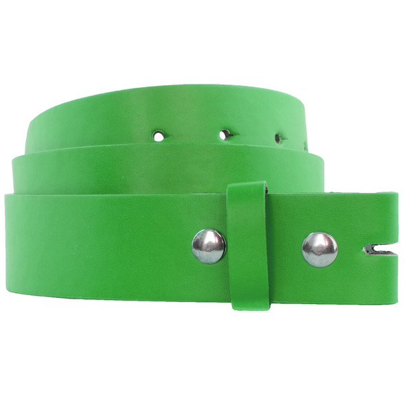 Buckleless Belts Green |  Adult Mix Sizes 12 PACK 2356A