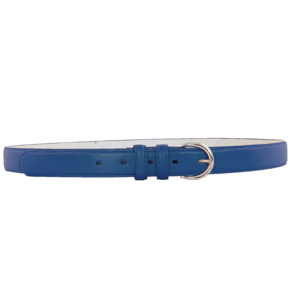 12 PACK Navy Blue 1 Inch Skinny Belts Mix Sizes 2564A