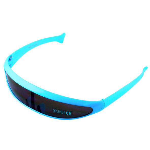 Sunglasses Retro Cyclops Turquiose 1008