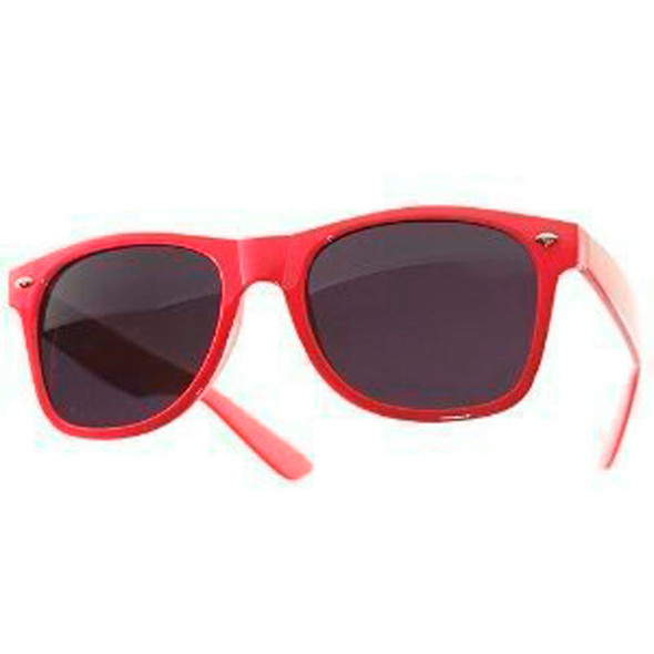 Red Sunglasses |  Iconic 80's Style | 12 PACK Adult Size 1056