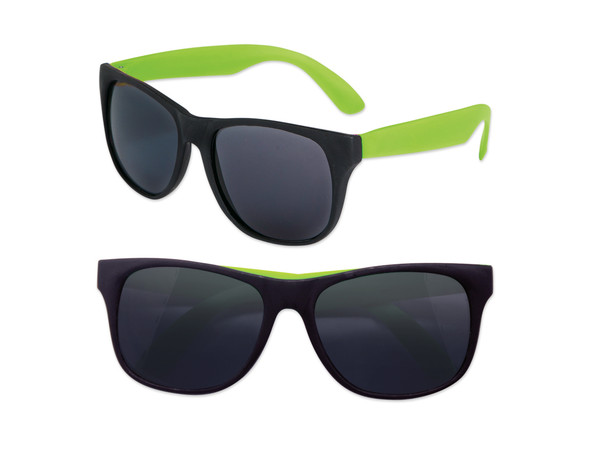 Party  Sunglasses with Green Legs 12 PACK 1176