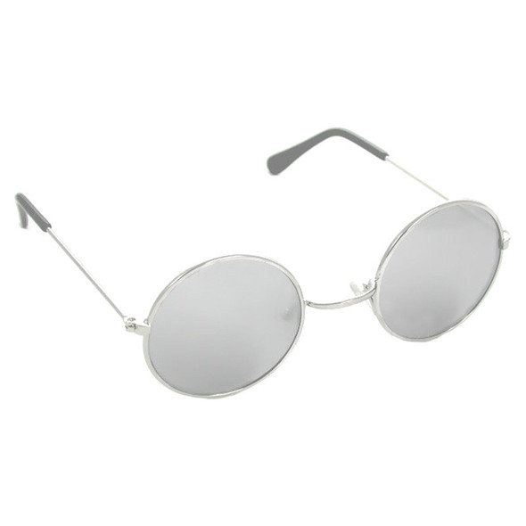 John Lennon Glasses Silver Mirror 1095