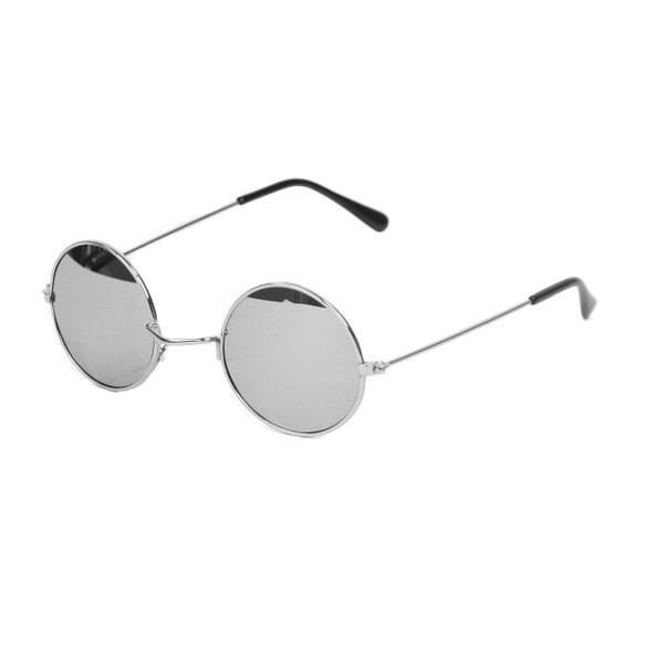 John Lennon Glasses Silver Mirror 1095