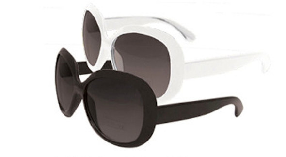 12 PACK Jackie Style Sunglasses Mixed Colors 1137A