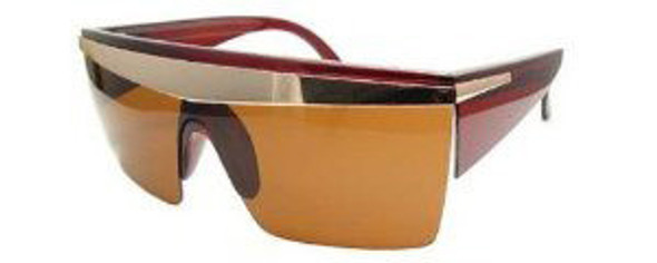 Brown Lady Diva Sunglasses 1143