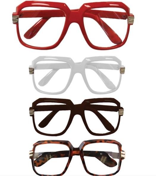 12 PACK Rapper Style Clear Lens Glasses Mix Colors  1145A