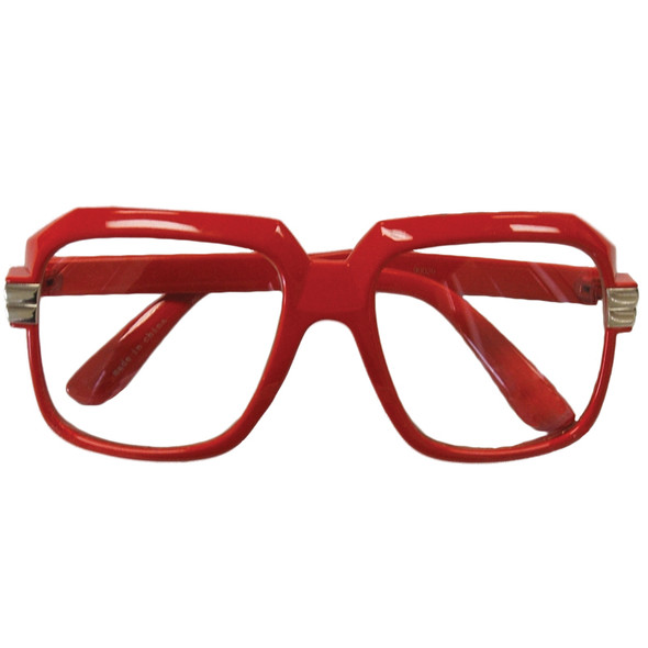 Logic Rapper Glasses | Run DMC Sunglasses | Red 1146