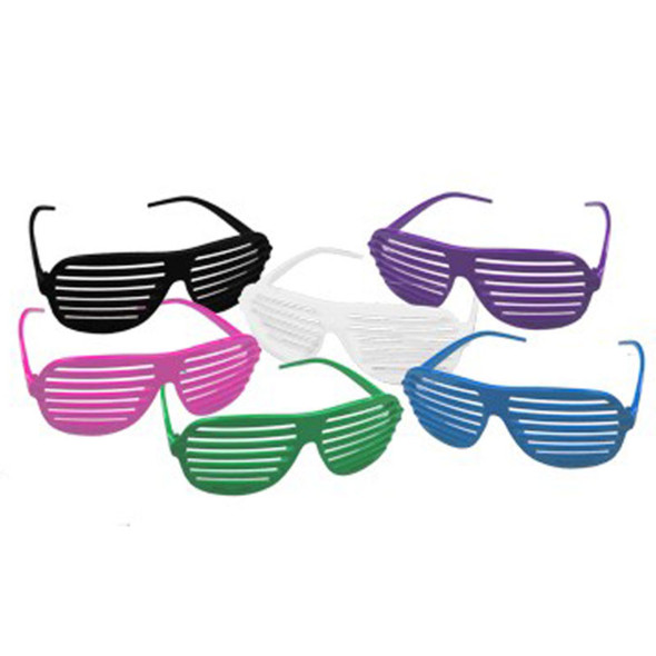 12 PACK Shutter Shades Mix Colors 1160