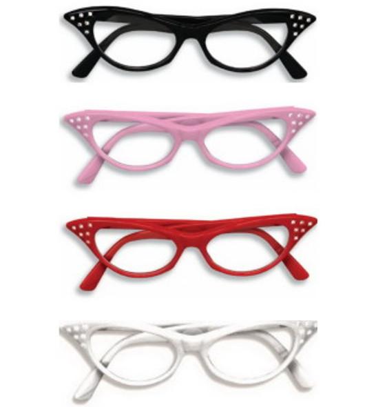 Cat Glasses Wholesale | Cat Glasses Bulk | 12 PACK Mix Colors 7080
