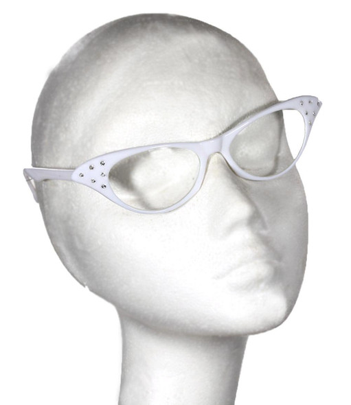 White Cat Eye Glasses |  White Cat Eye Glasses Wholesale | 1192