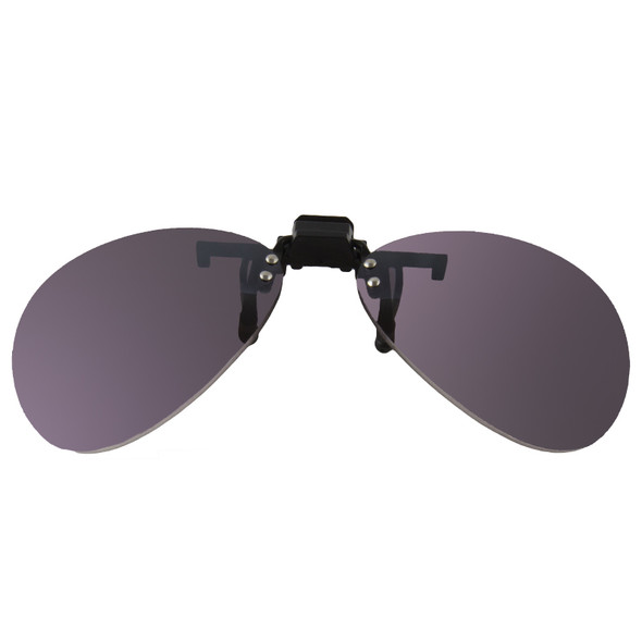 Clip On Oval Sunglasses 1198
