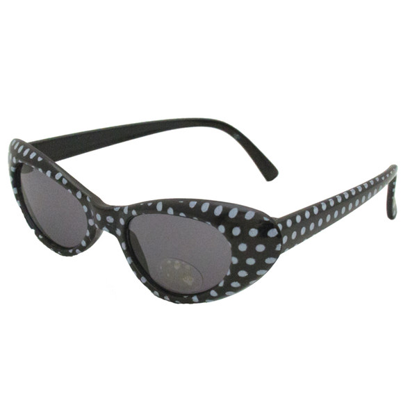 Black Cat Eye Sunglasses |  KIDS SIZE Black Cat Eye Sunglasses Wholesale | 7081