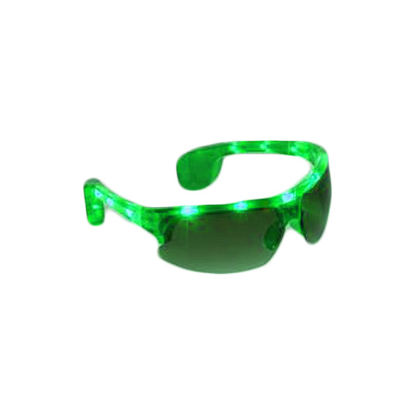 Green Rave LED Aviator Style Sunglasses 7103