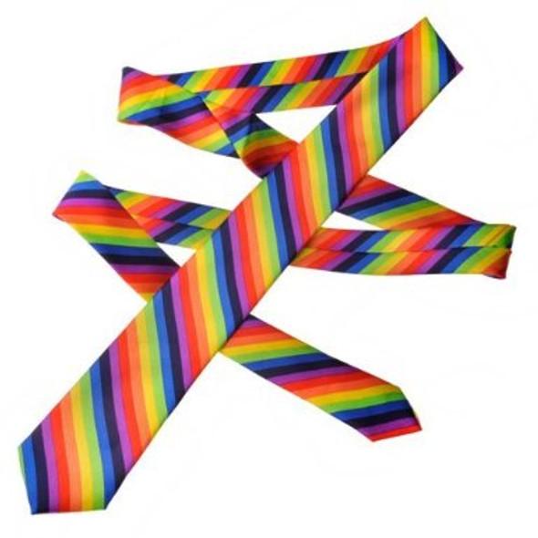 Rainbow Skinny Ties 1277