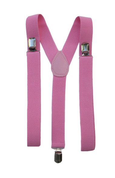 Suspenders for Women | Pink Suspenders | Elastic Clip On 1289
