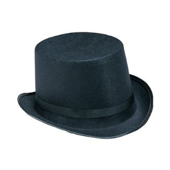 Top Hat Black Felt 12 PACK 1350