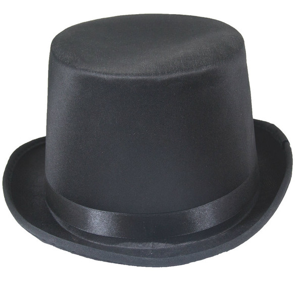Top Hat Black Deluxe Satin 1352