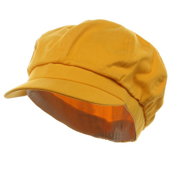 Newsboy Cap Yellow Adult 1407
