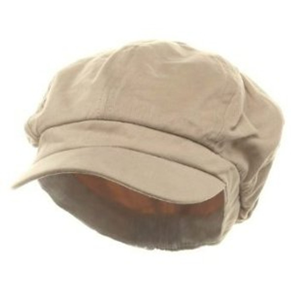 Newsboy Cap Beige Adult 1408