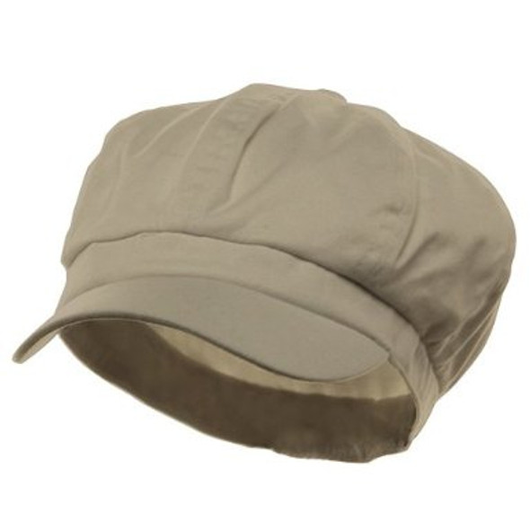 Newsboy Cap Camel Color Adult 1410