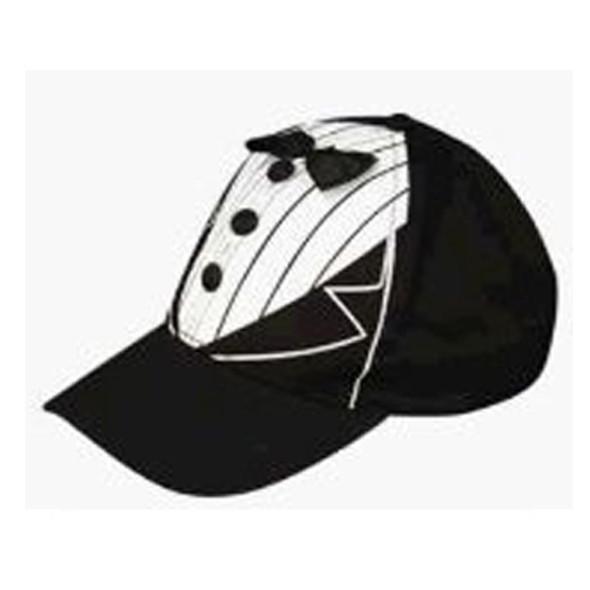 Groom Tuxedo Baseball Cap 1416