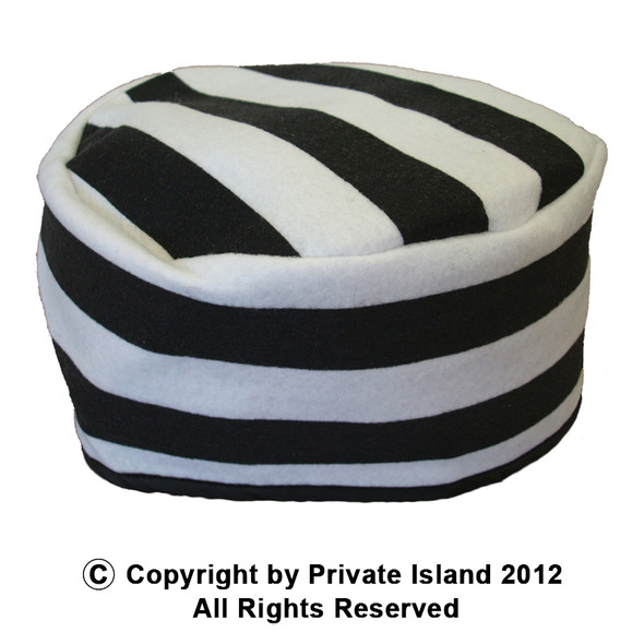 Prisoner Jailbird Hat 1427