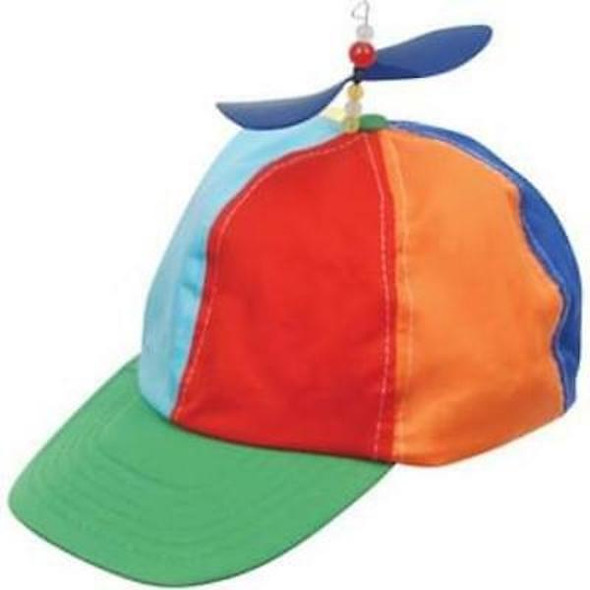 Propeller Cap Multi Color Adult 12 PACK 1431
