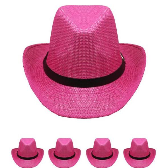 Black Cowboy Hats Bulk |  Adult 12 PACK 1480D