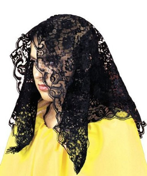 Spanish Mantilla Black 1497
