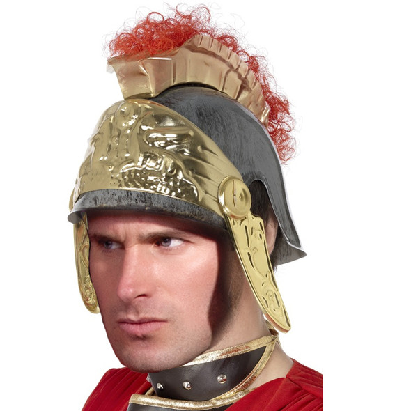 Roman Helmet with Red Feathers 1500