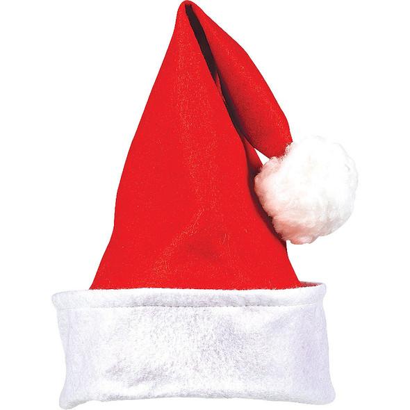 Adult Classic Santa Hats Bulk Red 12 PACK 1512D