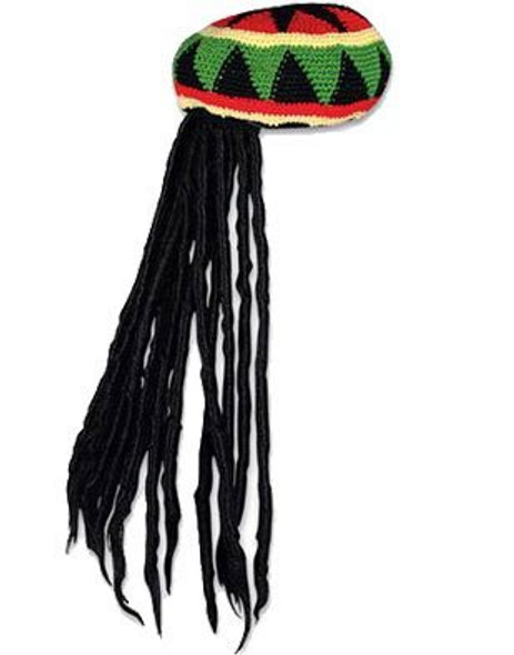 Rasta Kufi with Dreadlocks 1521