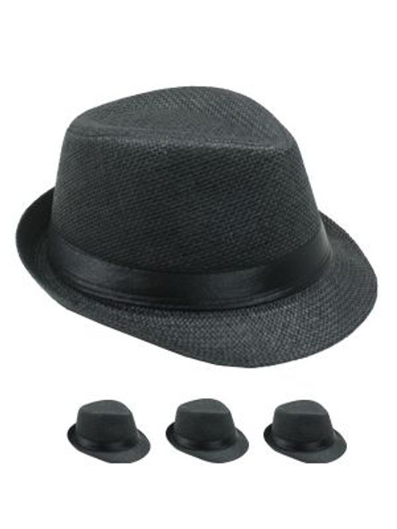 12 PACK Boys Fedora | Kids Fedora | Wholesale Child Hats | 1558D