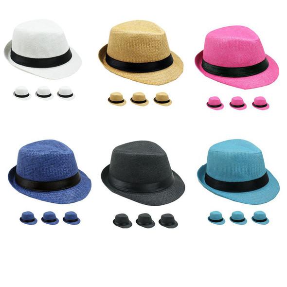 12 PACK Boys Fedora | Kids Fedora | Wholesale Child Hats | 1558D