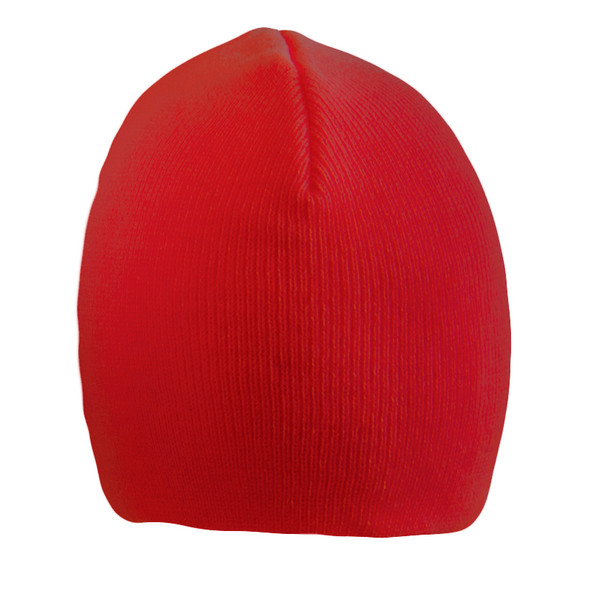 Short Beanie Hat Red 5733