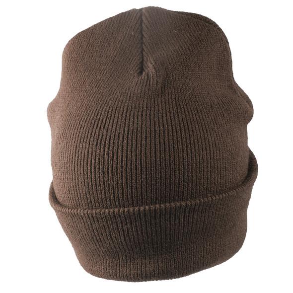 Long Beanie Hat Brown 5752