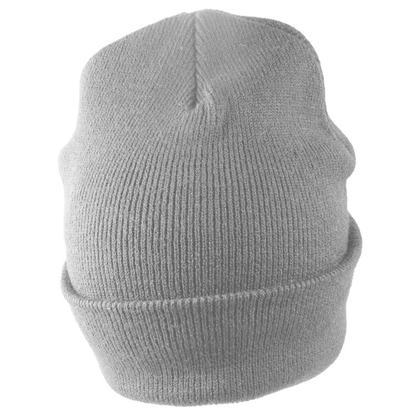 Long Beanie Hat Dark Grey 5755