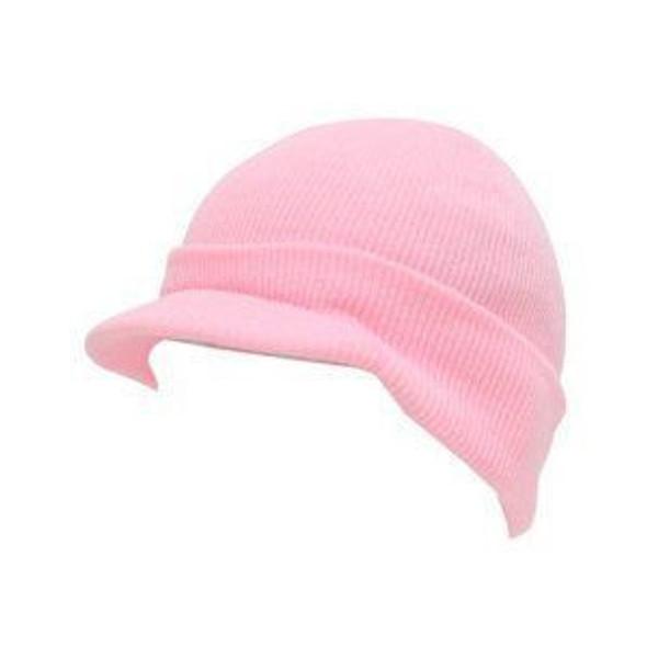 Beanie Visor Cap Light Pink 5773