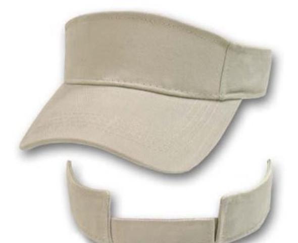 Adjustable Sports Visor Khaki 5813